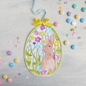 Easter Home Decor: Meadow Rabbit