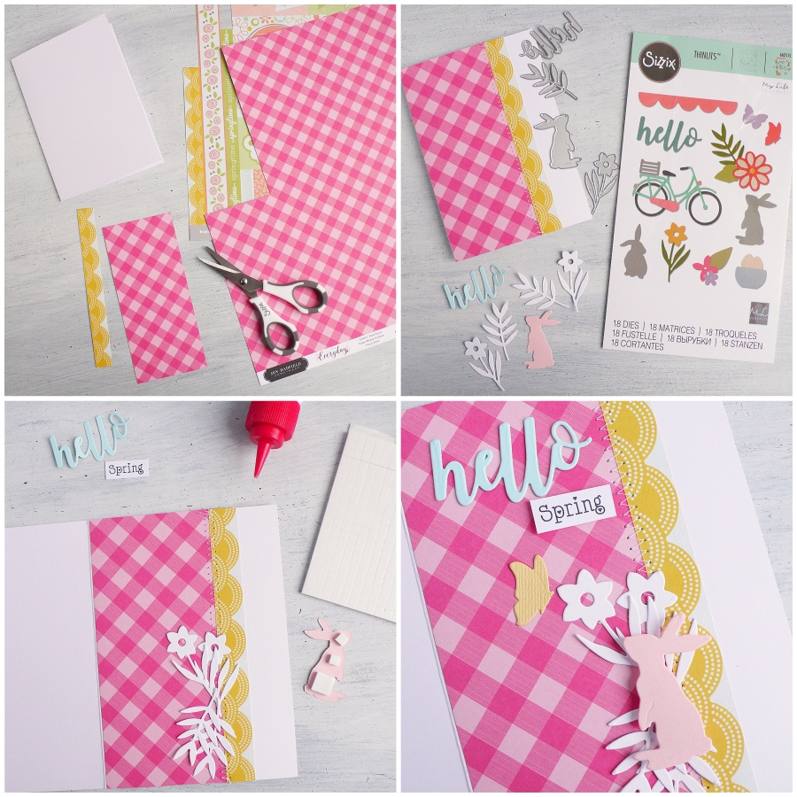 Handmade Card: Spring Time