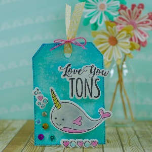 Love you tons gift tag!