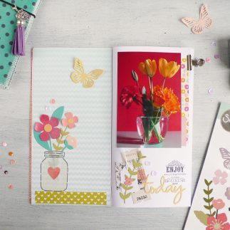 Traveler's Notebook Favorite Things - Garden Florals