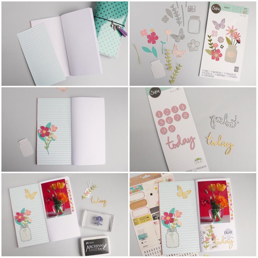 Traveler's Notebook Favorite Things - Garden Florals