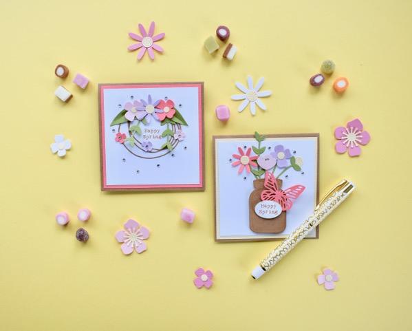 Garden Floral Cards - Vlog