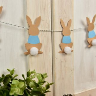 Peter Rabbit Pom Pom Garland
