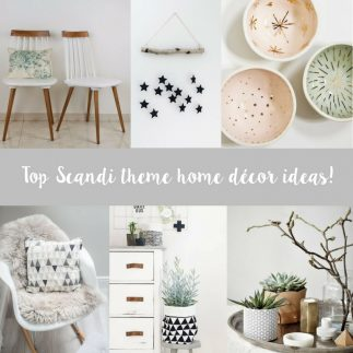 Top Scandi style home décor ideas!