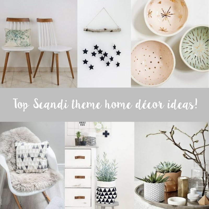 Top Scandi style home décor ideas!