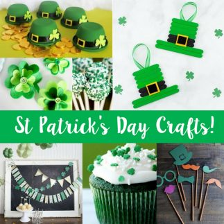 Fun St Patrick's Day crafts for the family!