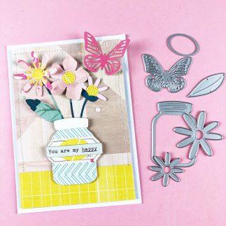 Garden Florals - a Spring inspired card