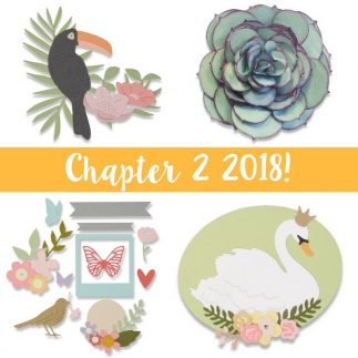 The Sizzix Chapter 2 collection is here!