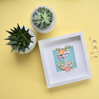 Floral Anchor Frame
