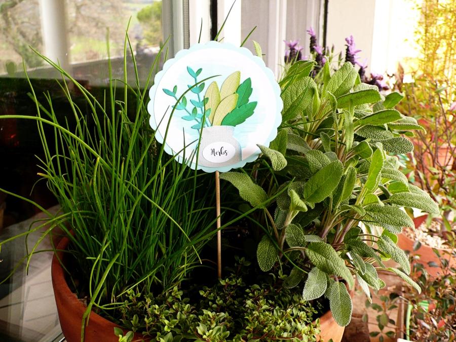 DIY Garden Gift Idea: Herbs Marker