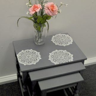 DIY Upcycled Nested Tables