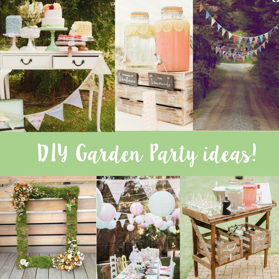 Top DIY ideas for a Garden Party! | Sizzix Lifestyle | Daily ...