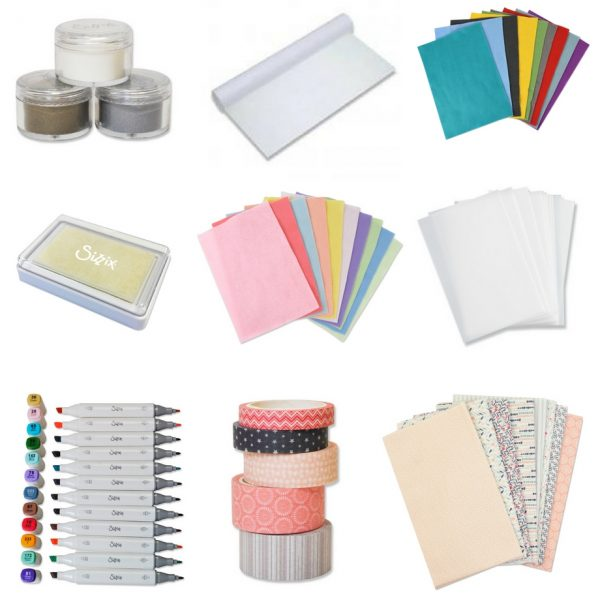 A brand new range of Sizzix craft supplies!