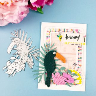 Hooray! A Tropical Bird Card