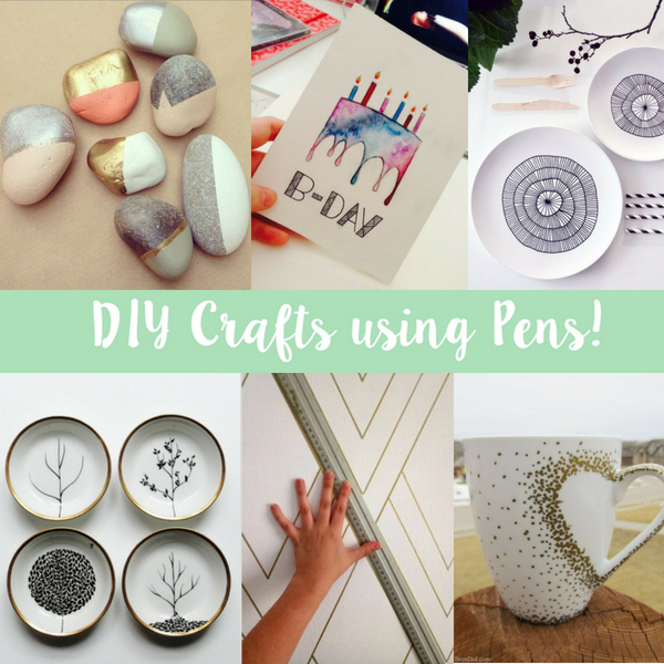 Diy Crafts Using Permanent Pens Sizzix Lifestyle Daily