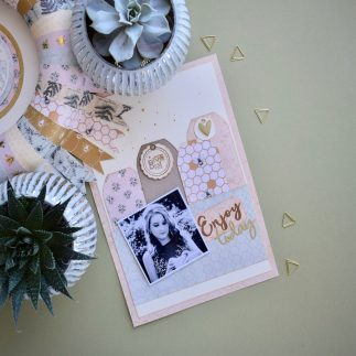 Scrapbooking with Sizzix on Hochanda