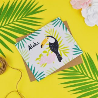 'Aloha' Tropical Party Invite