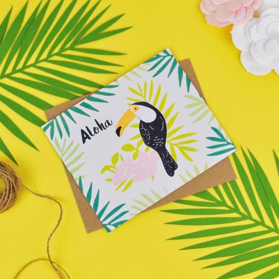 'Aloha' Tropical Party Invite