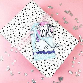Love You Tons Gift Tag + Video