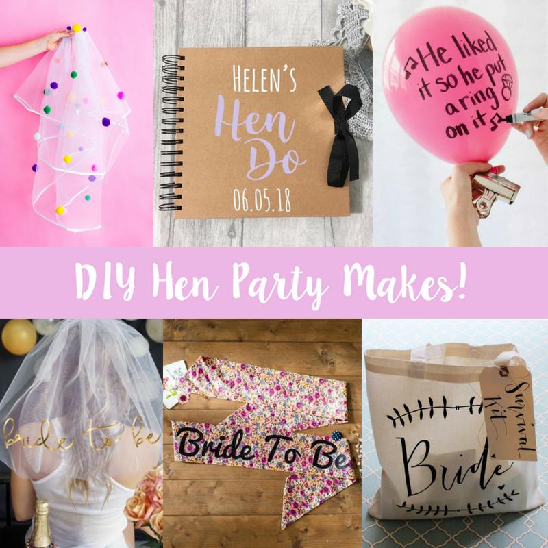 DIY Hen Party Makes!