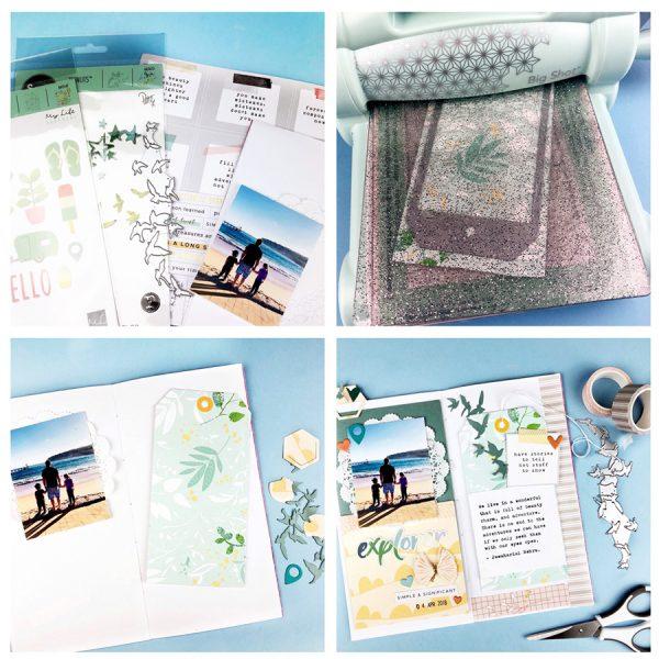 Travellers notebook die cutting