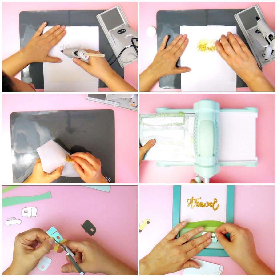 How to use Hot Glue Gun to Write Title - Hot Glue Hack