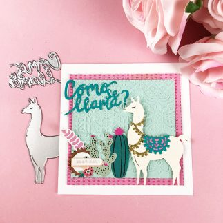 A-llama Fun! - DIY Card + Video