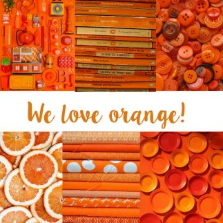 We Love the Colour Orange!