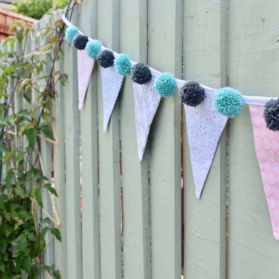 Fabric Bunting | Katie Skilton | Daily inspiration from our bloggers