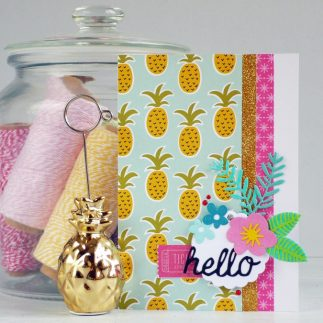 How To Create a Summer themed Card
