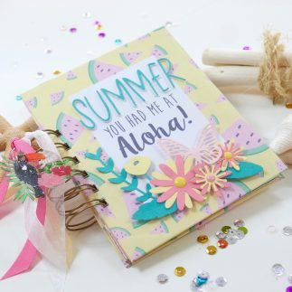 DIY summer journal (VIDEO)