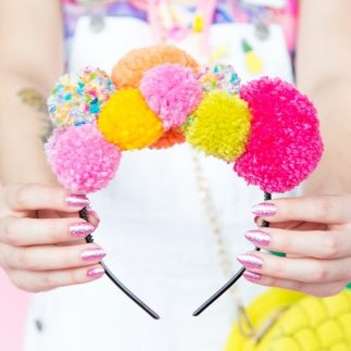 Pom Pom Fashion Accessory Ideas!