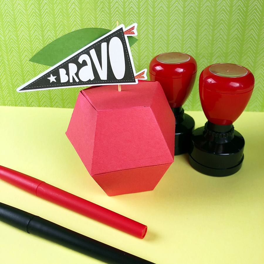 Bravo for the Teachers - A DIY Gift