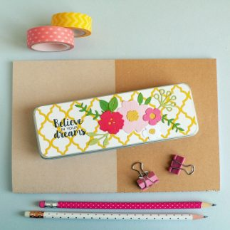 Personalised Back To School Pencil Tin