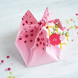 How to make a Star Gift Bag | Video tutorial