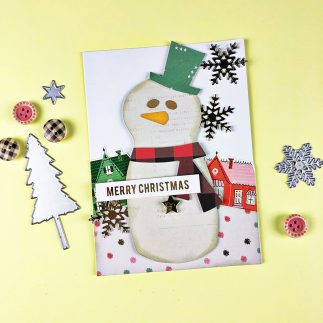 Merry Snowman Card + Video