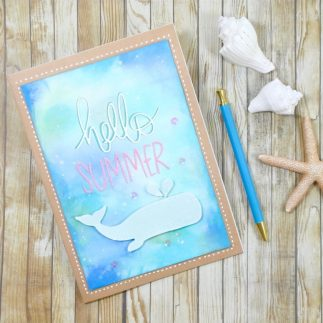Summer Journal decorated notebook (VIDEO)