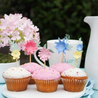 Bake off cup cake toppers