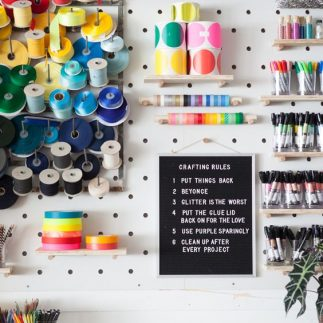 The Craft Room Makeover!