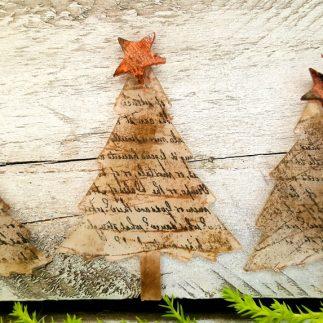 Rustic Tree Ornaments