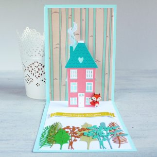 Create a Pop up House card