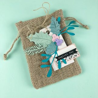 Burlap Gift Bag Tutorial + Video
