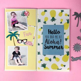 Aloha Traveller's Notebook Page + Video