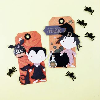 Halloween Friends Tags + Video