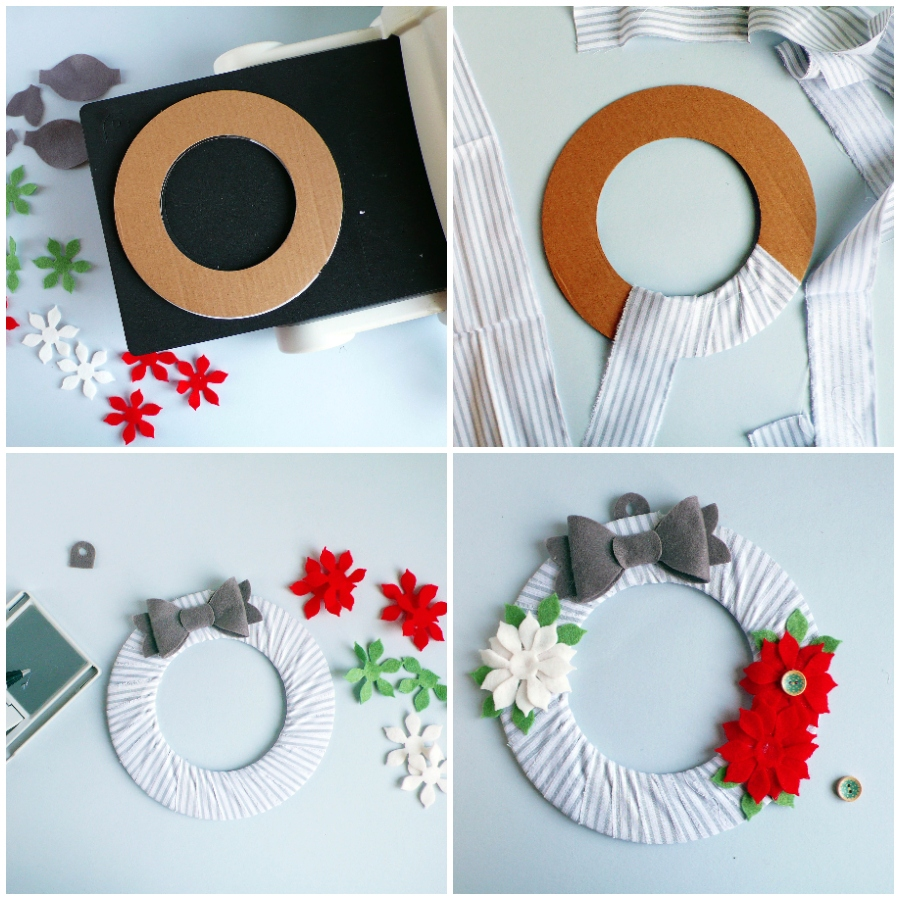 How To Create a Christmas Hanging Wreath