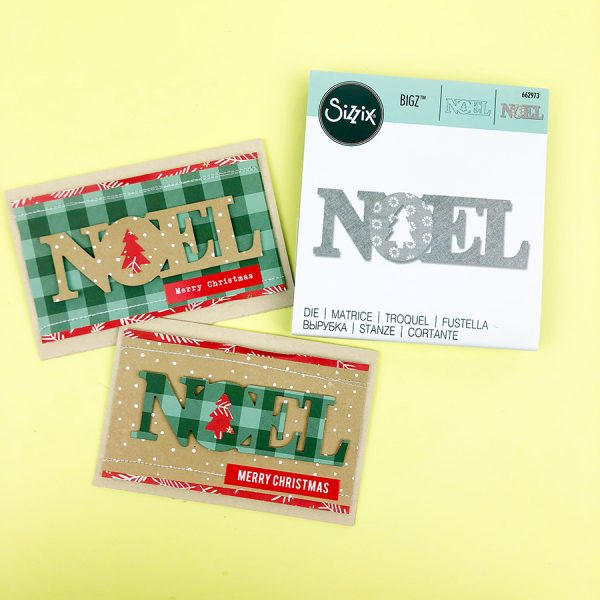 Noel Christmas Card Diy And Video Raquel Bowman Daily