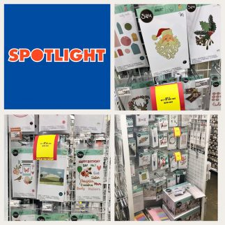 Sizzix Lifestyle exclusive dies 'spotted' in Spotlight Australia!