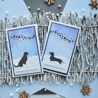 Country Canine Christmas cards
