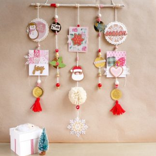 DIY Pretty Christmas Mobile