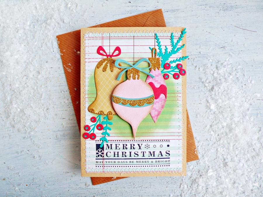 Whimsy Décor Christmas Card
